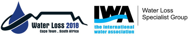 Water Loss 2018 logo and the Water Loss Specialist Group logo