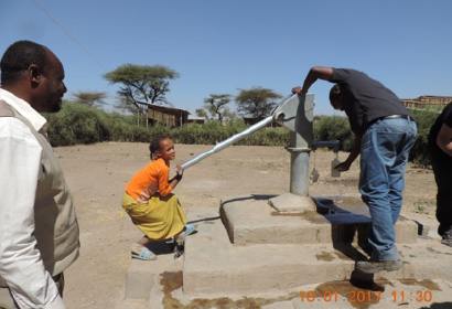 7 Water for Africa projects Hydrogeological and Hydrogeochemical survey