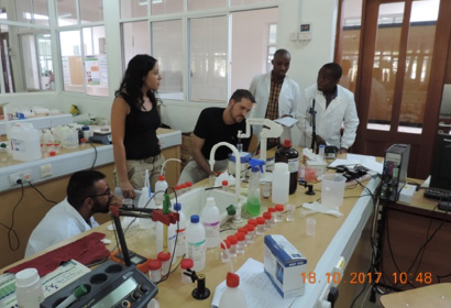 7 Water for Africa projects Laboratory experiments