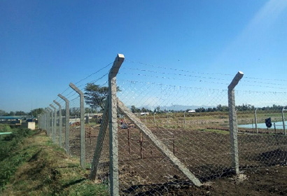 7 Water for Africa projects Fencing of the pilot site in Kisumu