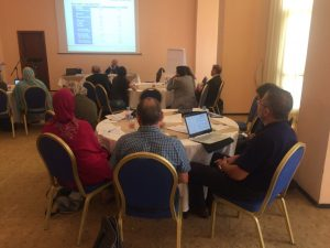 MADFORWATER project capacity building workshop in Agadir