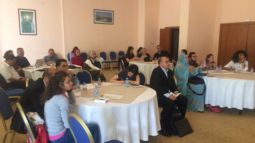 MADFORWATER project capacity building workshop in Agadir 2