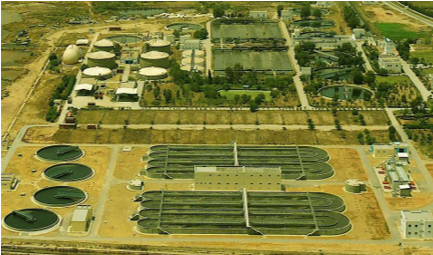 Four pilot plants of integrated wastewater treatment and